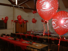 Paries and Wedding in Kislingbury Village Hall